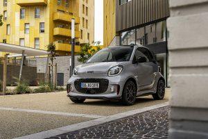 Smart EQ coupe